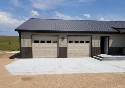 Install Location: Burwell, NE; Model: Clopay T52S in Sandtone